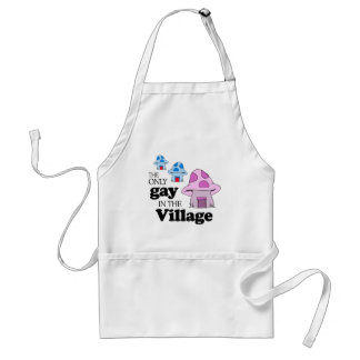 The only gay in the village standard apron