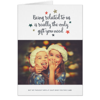 The Only Gift You Need | Holiday Greeting Card