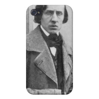The Only Known Photograph of Frederic Chopin Cover For iPhone 4