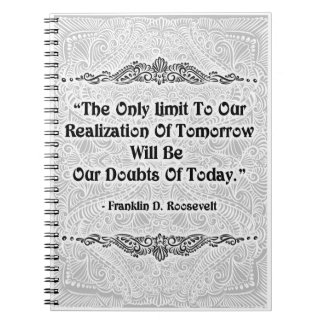 The Only Limit - Positive Quote´s Notebook