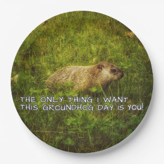 The only thing I want this Groundhog Day plates