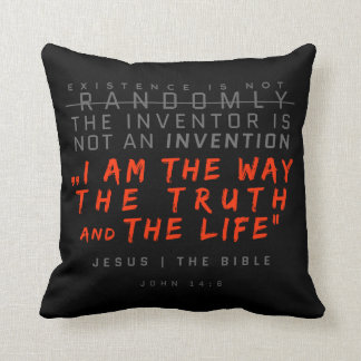 The only way -- Napkins Throw Pillow