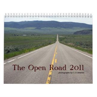 The Open Road 2011 Calendar
