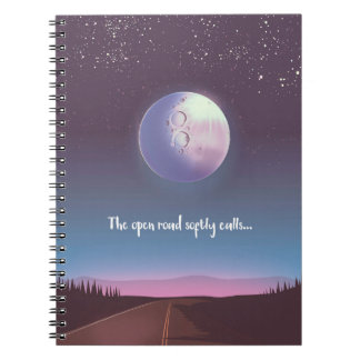 The open road softly calls notebooks