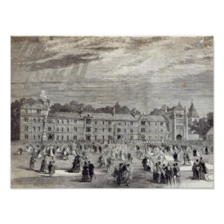 The Opening of Keble College, Oxford Poster