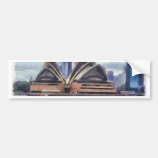The opera house bumper sticker