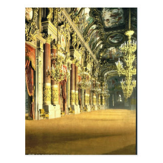 The Opera House, the foyer, Paris, France classic Postcard