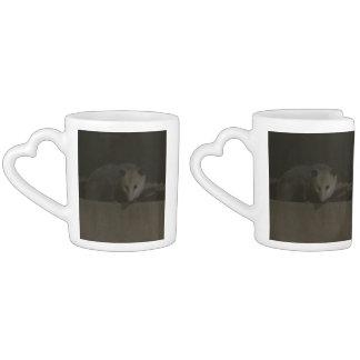 The Opossum Nesting Mugs