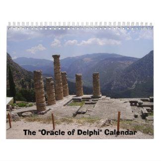 "The ""Oracle of Delphi"" Calendar"