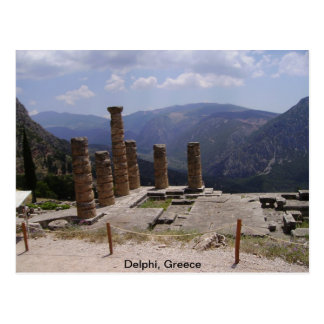 """The """"Oracle of Delphi"""" Postcard"""