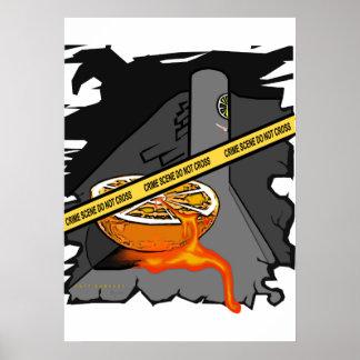The Orange Crime Poster