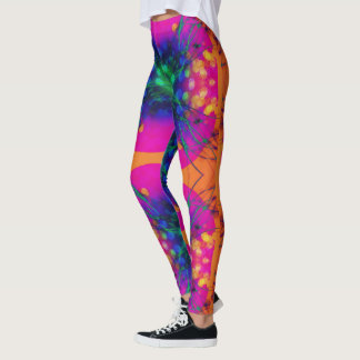 The Orange Fairy Leggings
