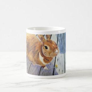 """The Orange Rabbit """"Blossom"""" Mug"""