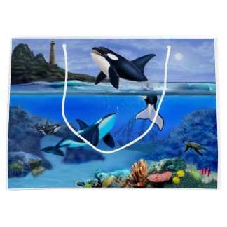 The Orca Family Large Gift Bag