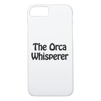 the orca whisperer iPhone 7 case