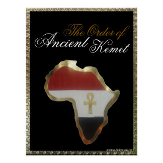 The Order of Ancient Kemet Poster