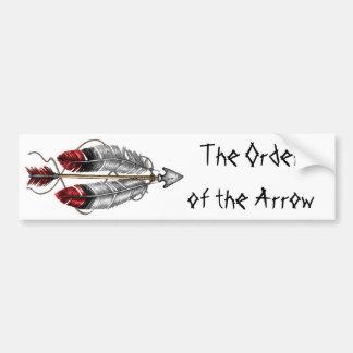 The Order of the Arrow Bumper Sticker