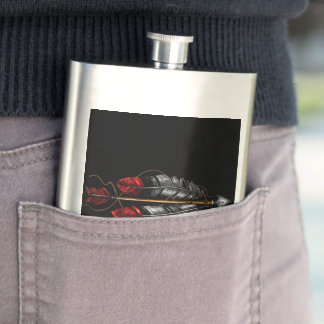 The Order of the Arrow Hip Flask