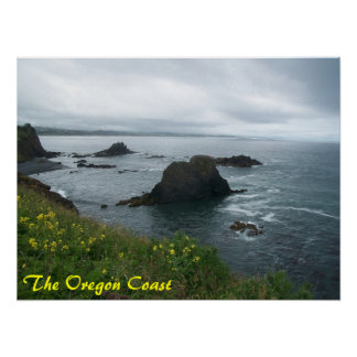 The Oregon Coast Poster
