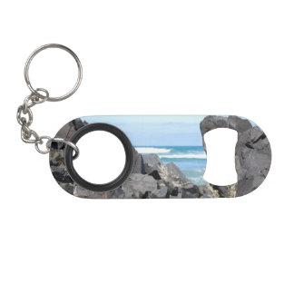 The Oregon Coast Rocks & Waves Keychain Bottle Opener