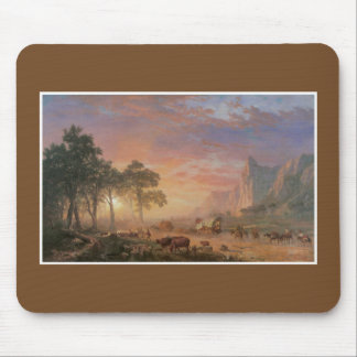 The Oregon Trail American Painting Mouse Pad