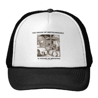 The Origin Of Biotechnology Is Found In Brewing Trucker Hat