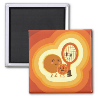 The origin of the waffle baby square magnet