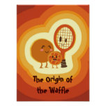 The origin of the Waffle Poster