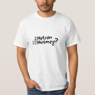 The original and official Nelson Nutmeg crew shirt