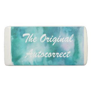 The Original Autocorrect. Eraser