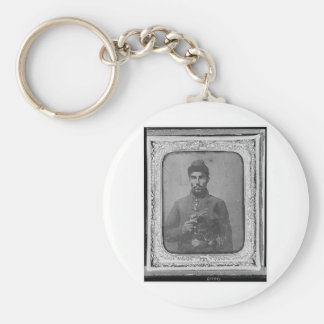 The Original Black American Soldier Keychain