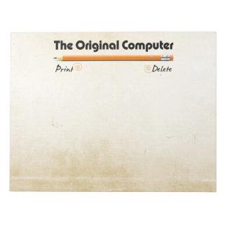 The Original Computer Notepad