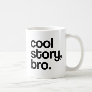 THE ORIGINAL COOL STORY BRO COFFEE MUG