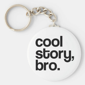 THE ORIGINAL COOL STORY BRO KEYCHAIN