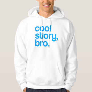 THE ORIGINAL COOL STORY BRO Light Blue Hoodie
