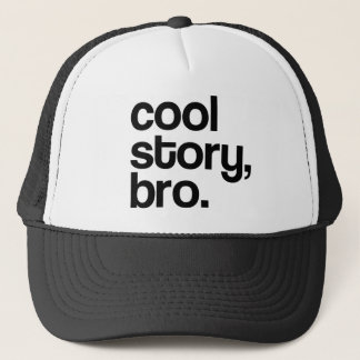 THE ORIGINAL COOL STORY BRO TRUCKER HAT