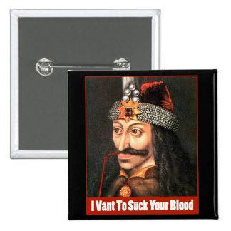 The Original Dracula, Halloween!!! 2 Inch Square Button
