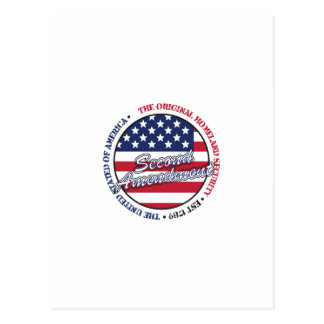 The original homeland security - Second amendment Postcard