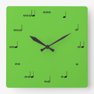 The Original Music Note Clock