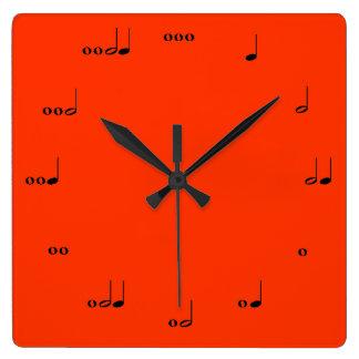 The Original Music Note Clock