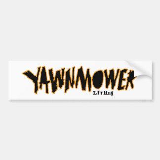 The ORIGINAL YaWNMoWeR ®1993 Bumper Sticker