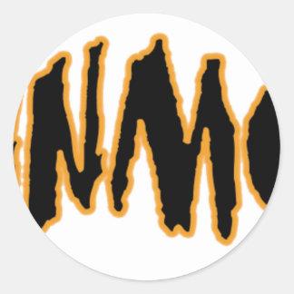 The ORIGINAL YaWNMoWeR ®1993 Classic Round Sticker