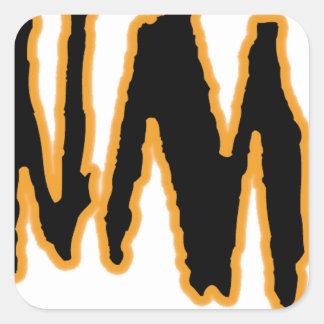 The ORIGINAL YaWNMoWeR ®1993 Square Sticker