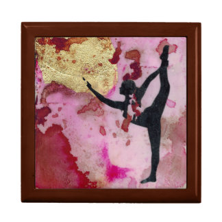 "The Original Yoga Girl 7.125"" x 6"" Gift Box"