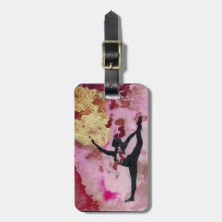 The Original Yoga Girl Luggage Tag