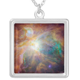The Orion Nebula 3 Silver Plated Necklace