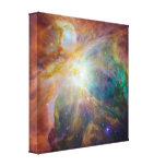 The Orion Nebula Stretched Canvas Prints