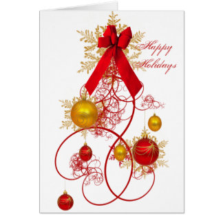 The Ornament Tree Card