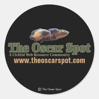 The Oscar Spot Round Sticker