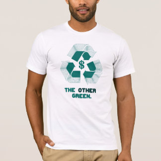 The Other Green. (mens white) T-Shirt
